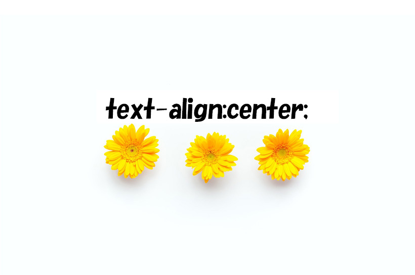 for Text align top